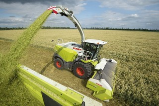Claas Feldhäcksler tec5 mobile Spectroscopy field chopper